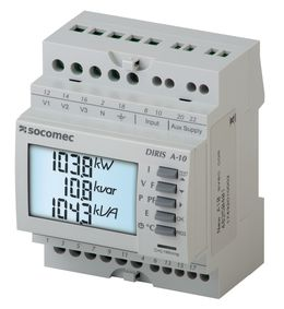 DIRIS A-10 - Network measurements analysers - SOCOMEC