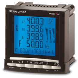 Diris A 60 Network Measurements Analysers Socomec